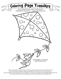 Small Picture dulemba Coloring Page Tuesday Kite Flying