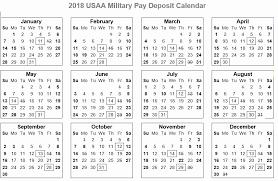 Usaa Pay Calendar 2019 2020 Calendar Grid For 2015 2016 2017