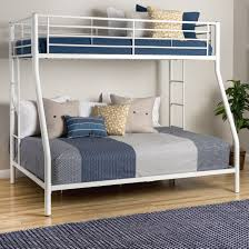 White Metal Bunk Bed - Twin Over Full - Free Shipping Today - Overstock.com  - 12021636