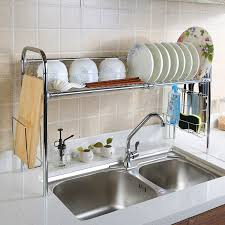 35 hanging dish rack above sink genius style of over the