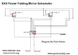 power mirror wiring diagram power image wiring diagram help pf mirror diagrams honda tech on power mirror wiring diagram