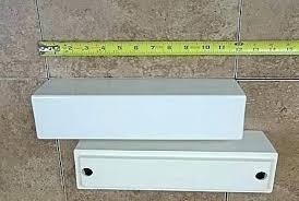 ceramic shower shelf s corner shelves insert bathrooms home depot