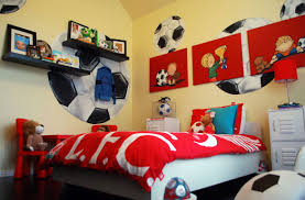 Soccer Bedroom 47 Really Fun Sports Themed Bedroom Ideas Home Remodeling