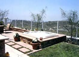 in ground jacuzzi. In Ground Jacuzzi Hot Tub Cost Above Swimming Pools .