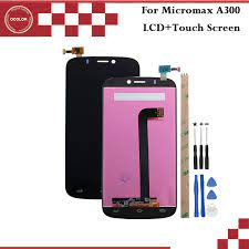 Micromax A300 Canvas Gold LCD Display ...