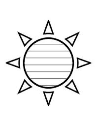 Sun Template Printable Template Sun Magdalene Project Org