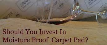 moisture proof carpet pad