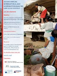 disaster law essay contest ifrc disaster law essay contest