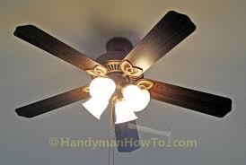 hampton bay colby ceiling fan model ef200da 52 fan blades won t turn