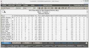 Football Stats Scouting Live Scoring Software App