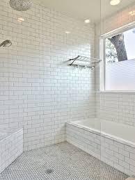 white bathroom tile with grey grout impressive interior design ideas