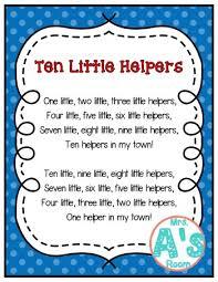 Community Helpers Songs For Preschool Mrs As Room