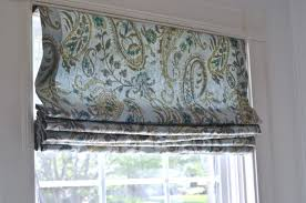 simple steps to sewing my own fabric roman shades