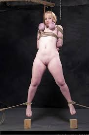 Looking for bondage hanging by breasts