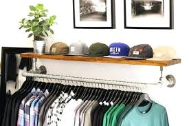 Diy Wall Mounted Coat Rack With Shelf Fascinating Diy Wall Coat Hooks How To Build A Wall Mounted Coat Rack Via On The