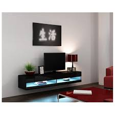 china modern living room cabinet design wall mount floating tv stand china tv stand led light tv stand