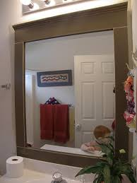 Framing A Large Mirror Framing A Bathroom Mirror Update Your Bathroom With A Diy Mirror