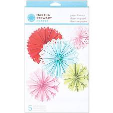 Martha Stewart Paper Flower Martha Stewart Modern Festive Paper Flowers Kit Walmart Com