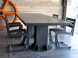 Vintage Metal Dining Table I Beam Dining Table Industrial Furniture And Coffee