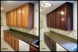 new refinishing oak kitchen cabinets throughout cabinet espresso old wood incredible with hance within refinished before