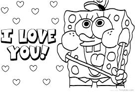 Spongebob Color Page Trustbanksurinamecom