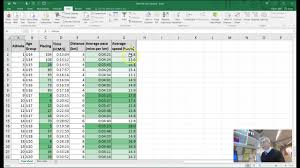 Flash Charts In Excel Running Pace Chart Excel Bedowntowndaytona Com
