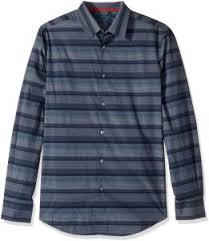 Perry Ellis Size Chart Perry Ellis Mens Short Sleeve Horizontal Multi Color Stripe