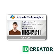 040 Student Id Card Templates Photoshop Adding Employee