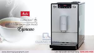 Máy pha cà phê tự động Melitta Caffeo Solo - Lựa chọn số một cho những tín  đồ Espresso