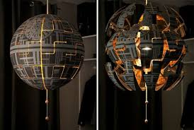 How To Turn An IKEA Pendant Lamp Into An Exploding Death Star Lamp