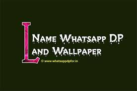 L Name Wallpaper