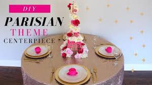 parisian theme party decorations diy sweet 16 centerpiece diy quinceanera decorations