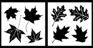 Auto Vynamics Stencil Camo Leaf01 20 Detailed Maple And