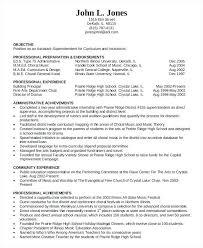 Teacher Resume Sample Pdf Administration Education Resume Template