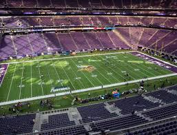 Us Bank Seating Chart Vikings U S Bank Stadium Section 343 Seat Views Seatgeek