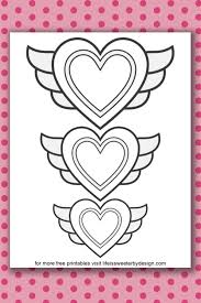 Hearts are so much fun to color. Heart Coloring Pages Life Is Sweeter By Design