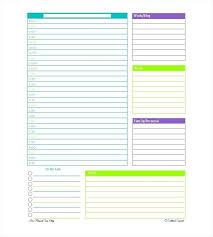 Online Planning Calendar Day Planner Calendar Template Daily Online Excel Weekly Planning