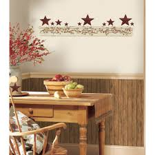 Primitive Kitchen New Primitive Arch Wall Decals Country Kitchen Stars Berries