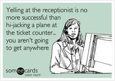 Receptionist on Pinterest | Prison Officer, Medical Receptionist ... via Relatably.com