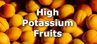 Potassium In Fruits Chart 22 Fruits High In Potassium A Ranking From Highest To Lowest
