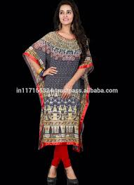 New Design Printed Moroccan Kaftan For Women Maxi Dress Moroccan