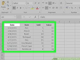 Excel Word How To Convert Excel To Word 15 Steps With Pictures Wikihow