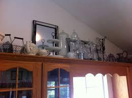 above kitchen cabinet decorations. Kitchen:Ideas To Decorate Above Kitchen Cabinets \u2014 Battey Spunch Decor Top Of Cabinet Decorating Decorations