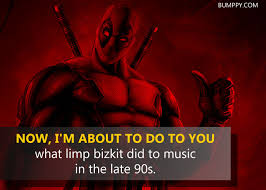 Deadpool Quotes Fascinating 48 Epic Quotes By Deadpool That Prove He Is The Most Badass And Most