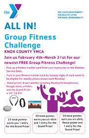 Group Fitness Challenge Tracker Knox County Ymca Events
