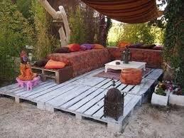 for outdoor furniture pallets diy