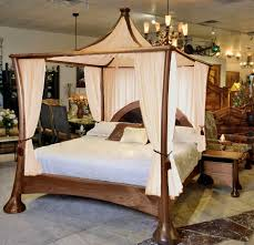 Four Poster Bed Canopy Frame: Queen Size Four Poster Canopy Bed ...