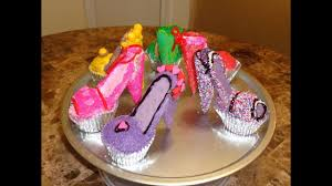 Diy Fancy Open Toe Stiletto Cupcakes Youtube