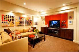 Basement Decorating Ideas On A Plus Some Cool Design Interior Decorations  Images Ideas ...