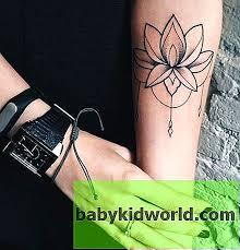 Tetování Lotus Význam Pro Dívky Návrhy Náčrtek A Nejlepší Místa